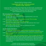 Kutsun lapsevanemaid 4.septembril kuulama loengut Terviseõigusest